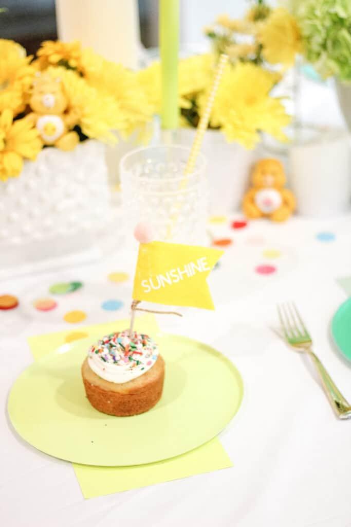 Sunshine Flag on cake