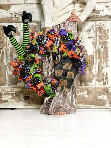 Traditional Halloween Wreath