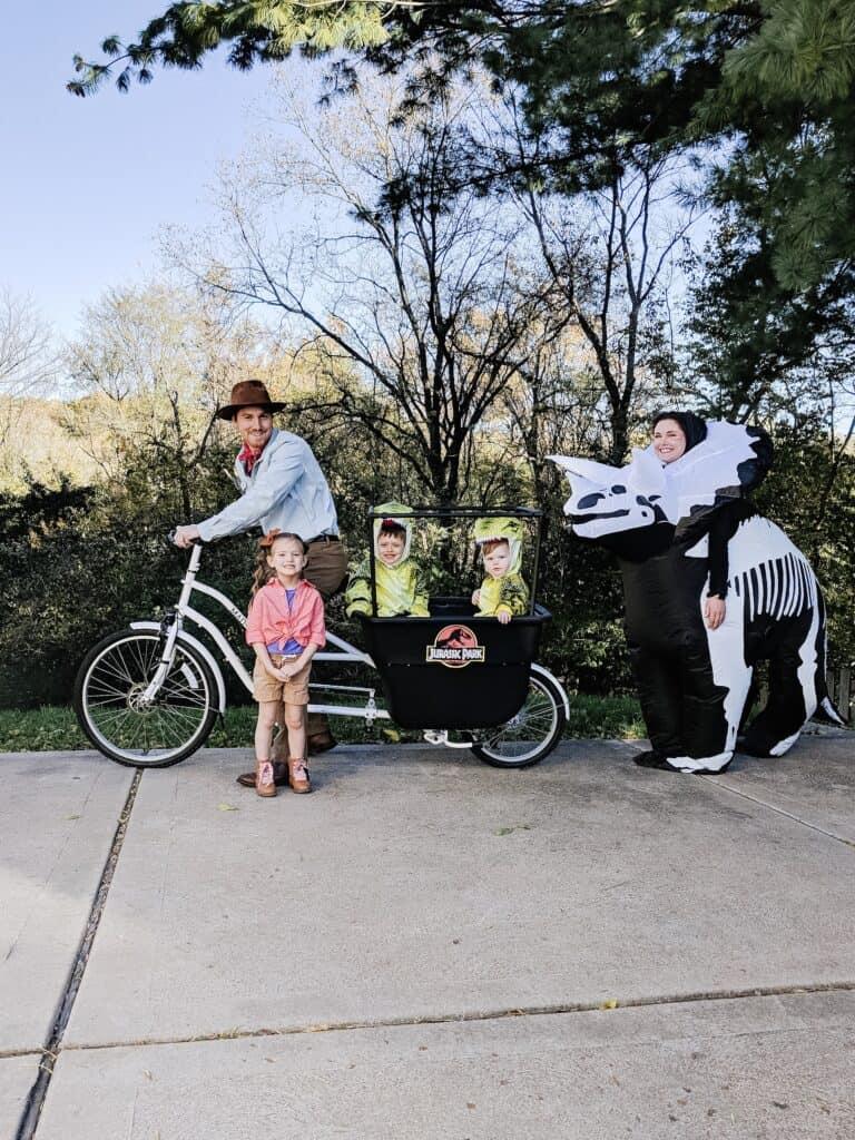 Jurassic Park Family Halloween Costume