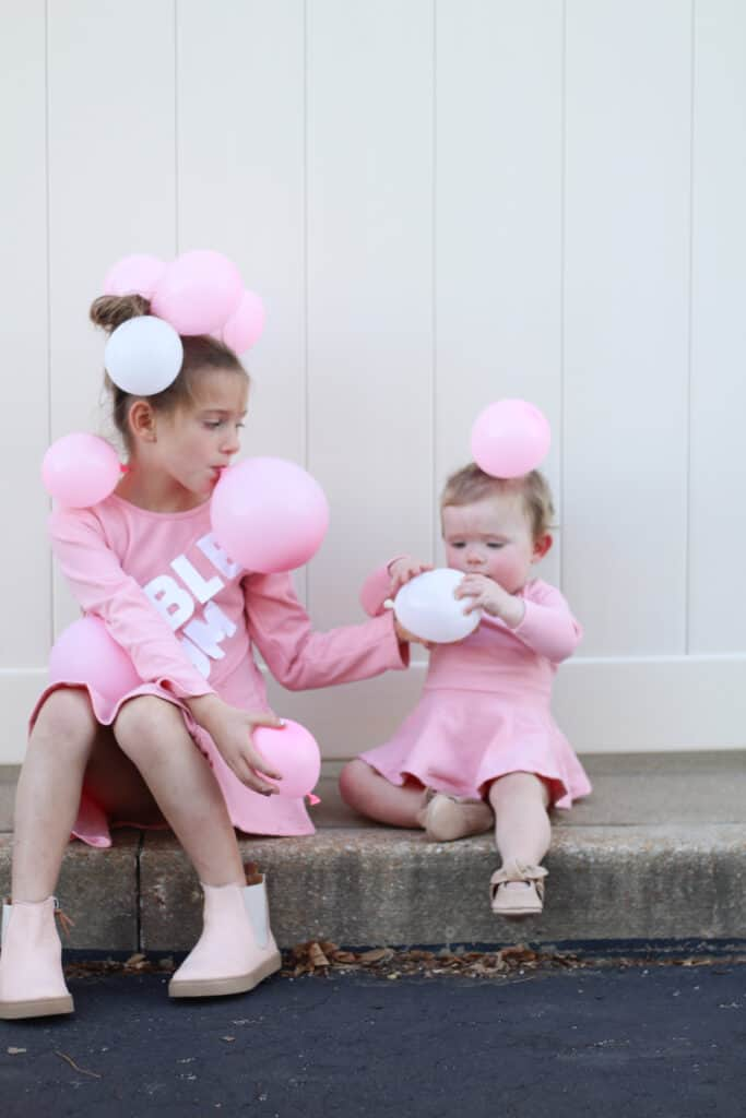 Easy halloween costume bubblegum