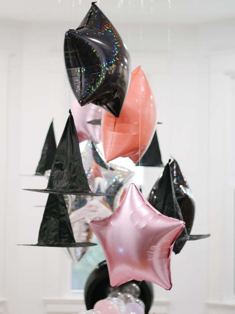 Hanging Hats and Star Balloons